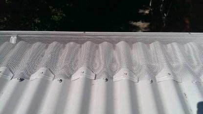 Corrugated ron