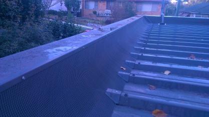 Trim deck box gutter
