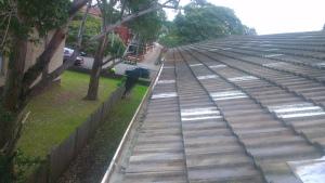 Clean gutters